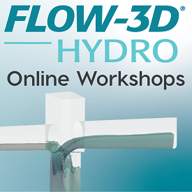 FLOW-3D HYDRO Online Workshops